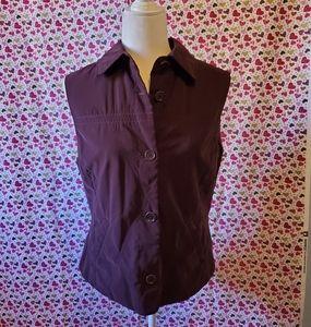 Faconnable purple women vest